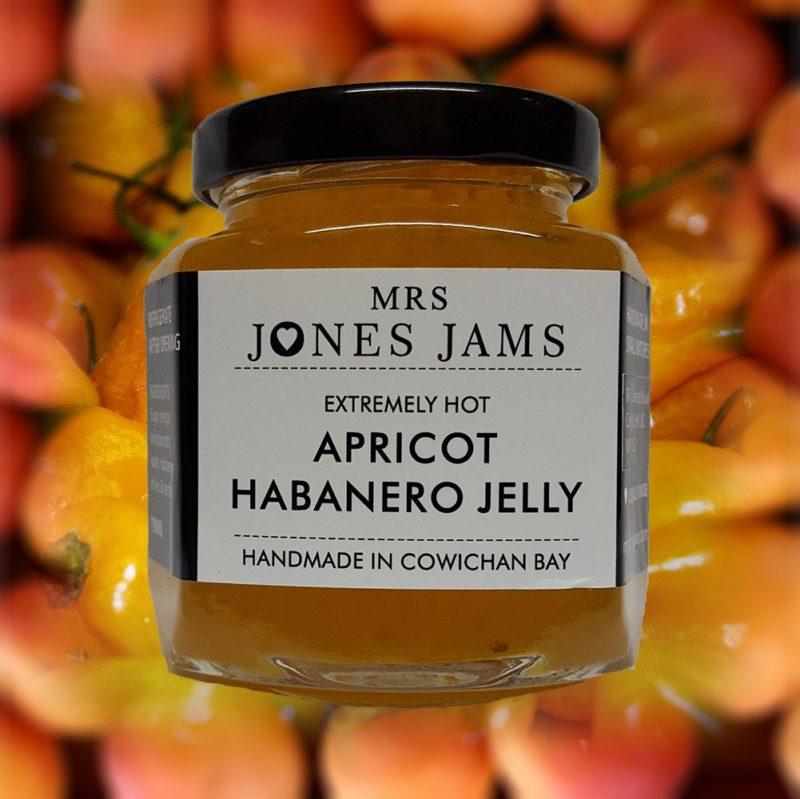 Mrs Jones Apricot Habenero Jelly