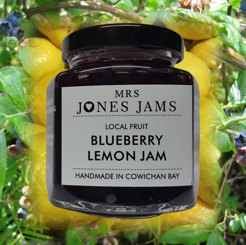 Mrs Jones Blueberry Lemon Jam