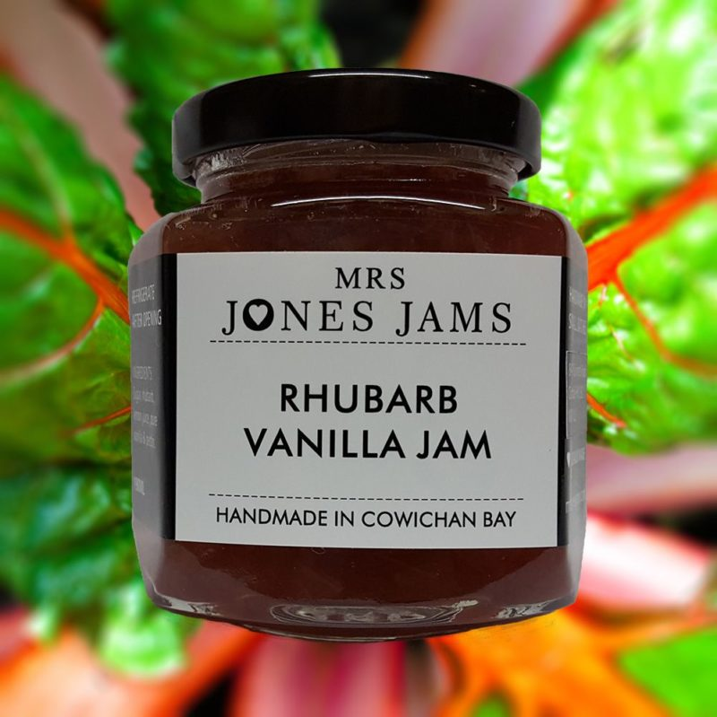 Mrs Jones Rhubarb Vanilla Jam