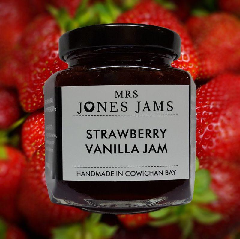Mrs Jones Strawberry Vanilla Jam