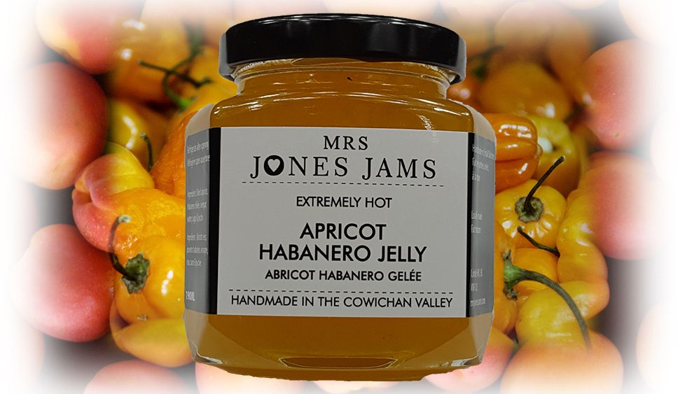 Mrs Jones Jams Apricot Habenero