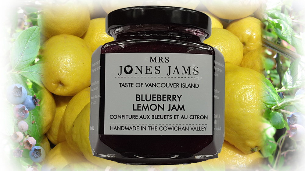Mrs Jones Jams Blueberry Lemon