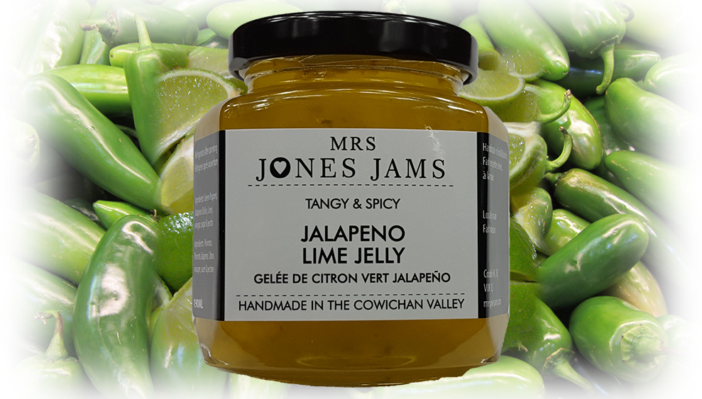 Mrs Jones Jams Jalapeno Lime