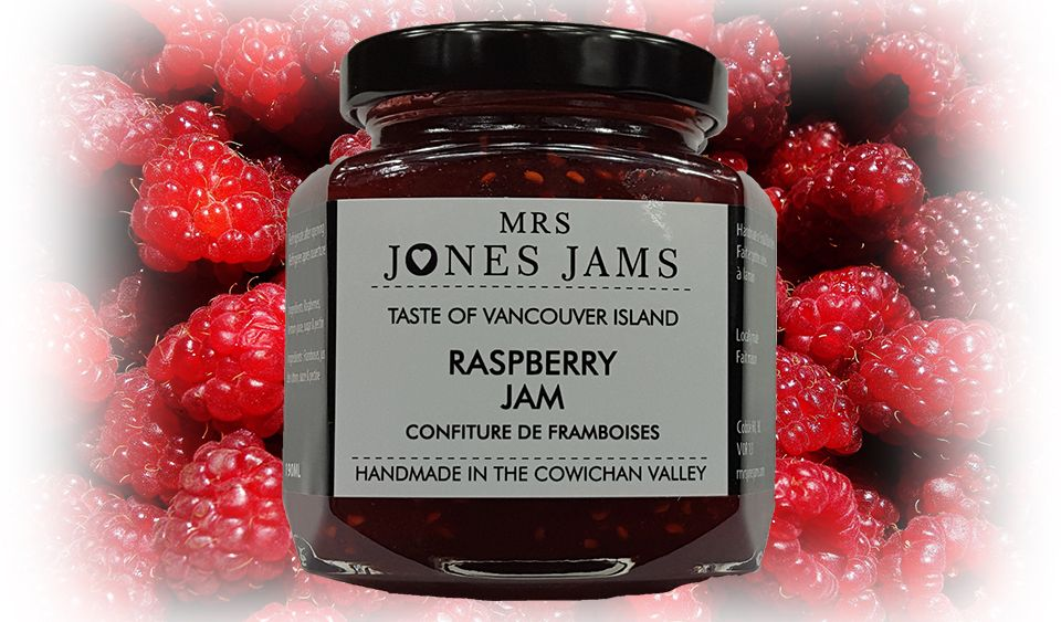 Mrs Jones Jams Raspberry