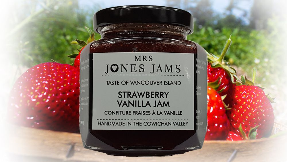 Mrs Jones Jams Strawberry Vanilla