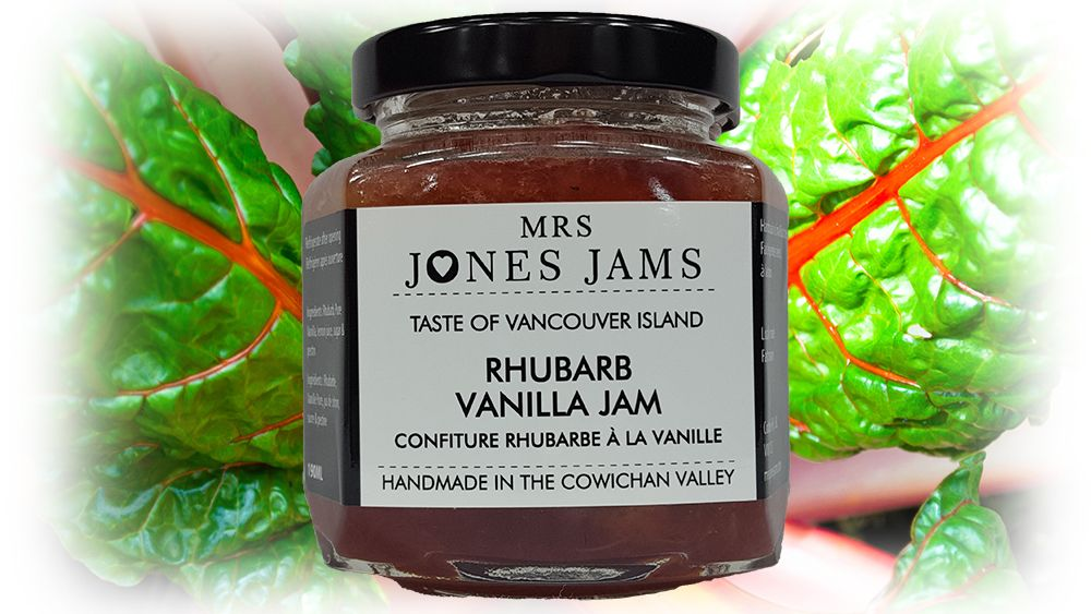 Mrs Jones Jams Rhubarb Vanilla