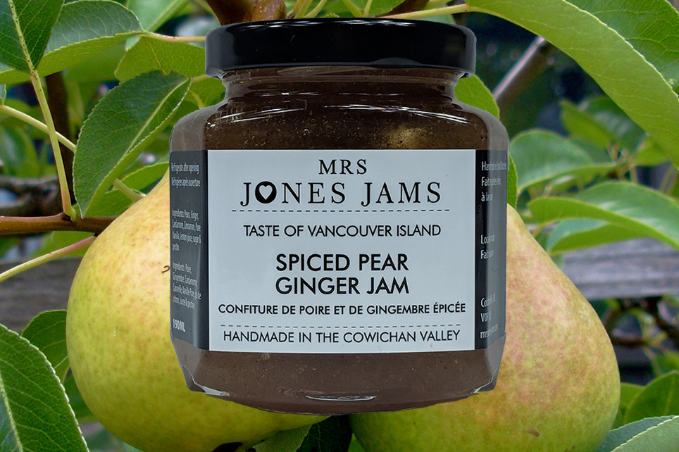 Mrs Jones Jams Spiced Ginger Pear