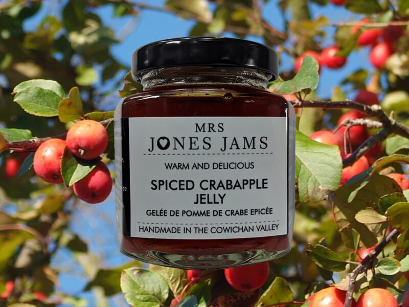 Spiced Crabapple Jelly